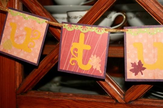 Autumnal banner detail