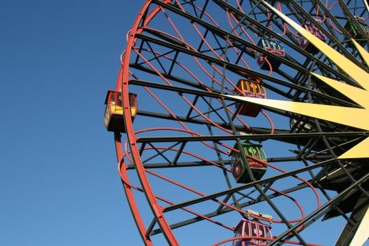 California Adventure Paradise Pier ferris wheel