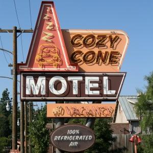 Cozy Cone Motel in Cars Land