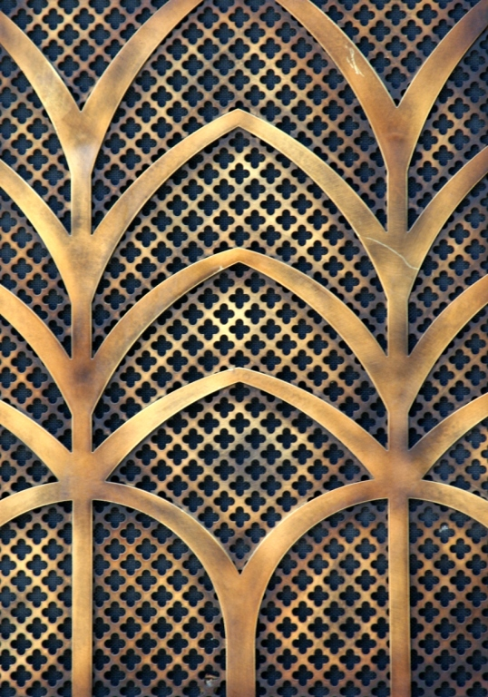 Disneyland decorative grate