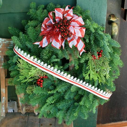 Christmas tree paper garland
