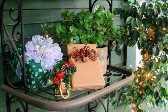 Gift wrap detail