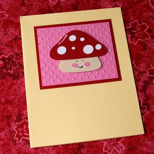 Such a happy mushroom