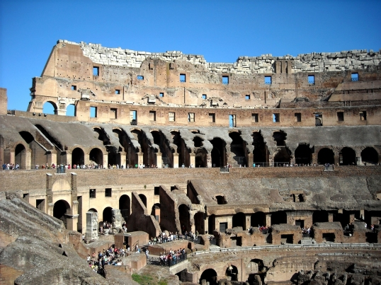 How the Colosseum has aged over the last two thousand years