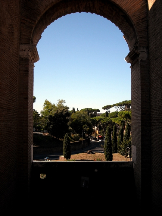Such a beautiful view from the Colosseum
