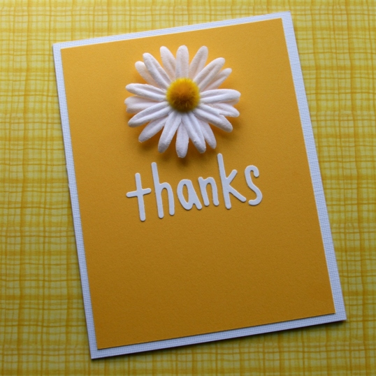 Daisy Thank You Note