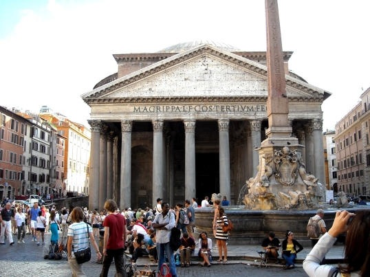 The Pantheon, an engineering marvel for its time