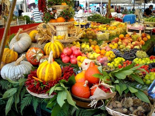 Campo de' Fiori, Rome's famous farmers market