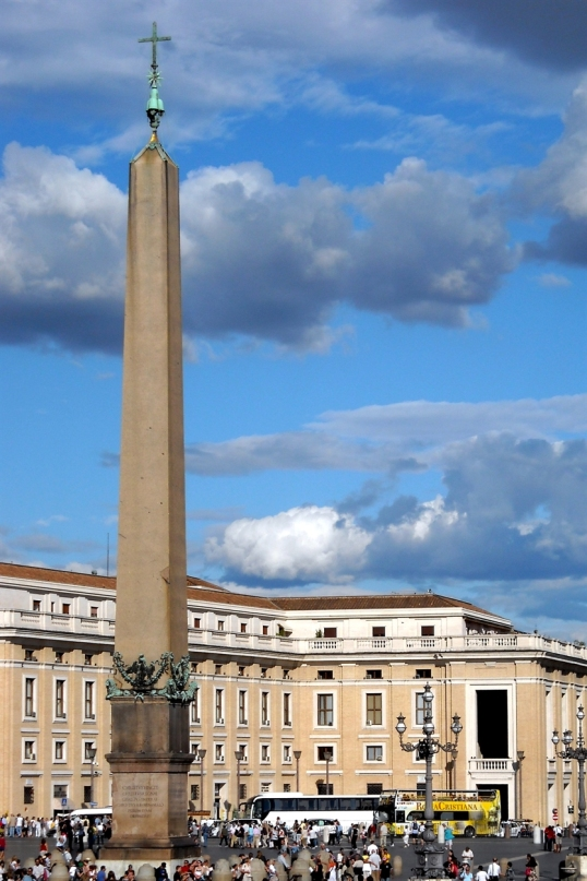 The Obelisk in St. Peter's Square