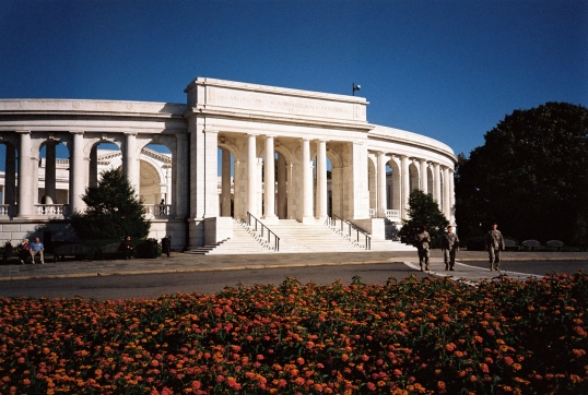 The Memorial Amphitheater was dedicated on May 15, 1920.