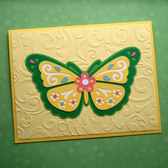 Butterflies make me smile!