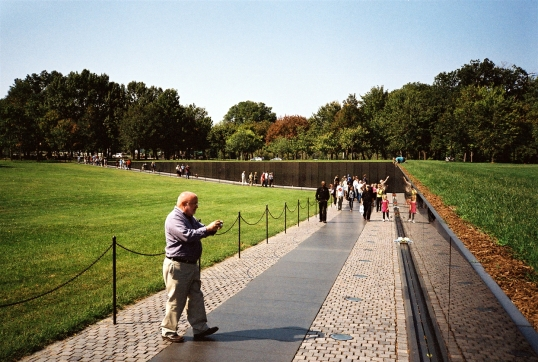 The walls effectively act as a sound barrier, but aren't threatening or enclosing.