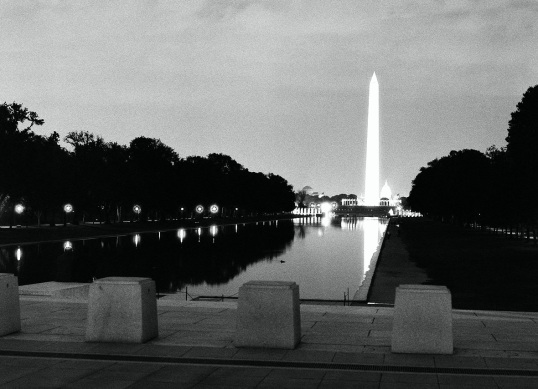 The Washington Monument was dedicated on February 21, 1885, one day before George Washington's birthday.