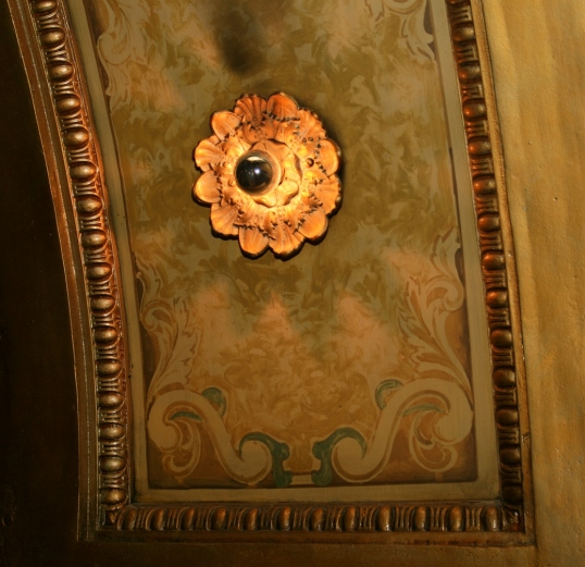 A beautiful sconce located in the Atrium.