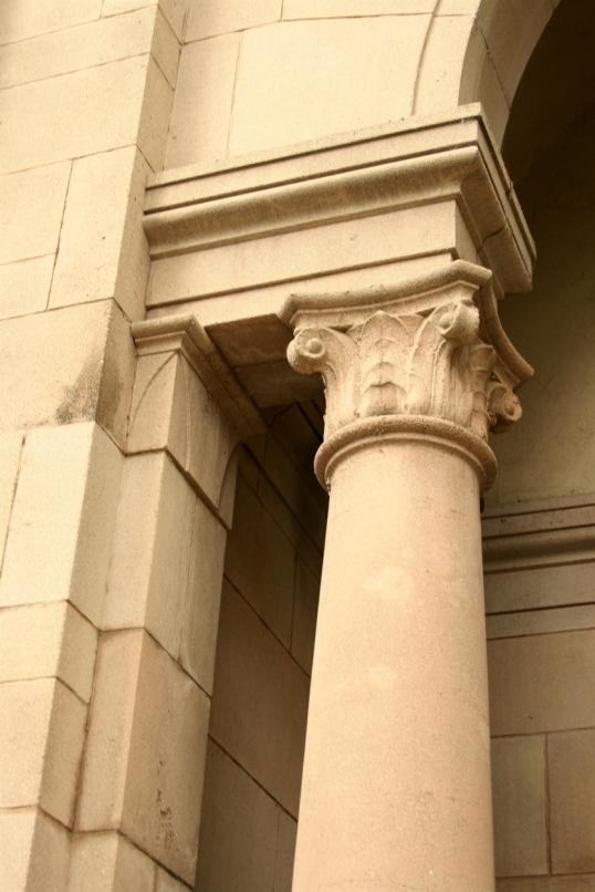 A beautiful column detail.