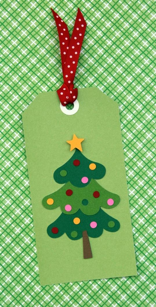 Festive tree tag!