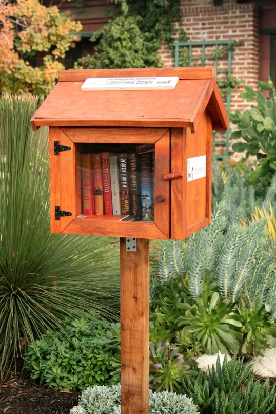 What a charming micro library!