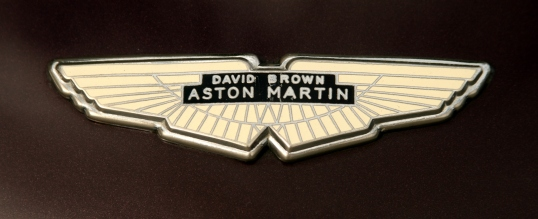 David Brown purchased Aston Martin in 1947 and his initials are still associated with the company.