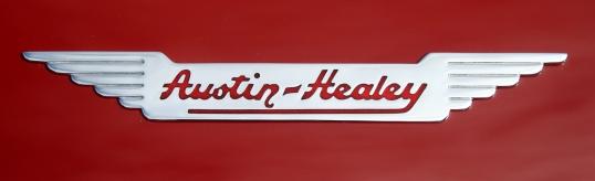 Clean, simple banner on a fun read car.