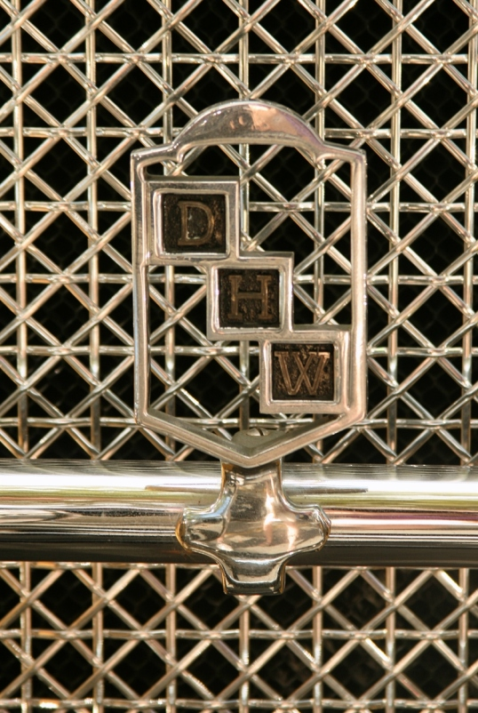 Love the understated grace in which the emblem blends in the grill.  Magnificent!