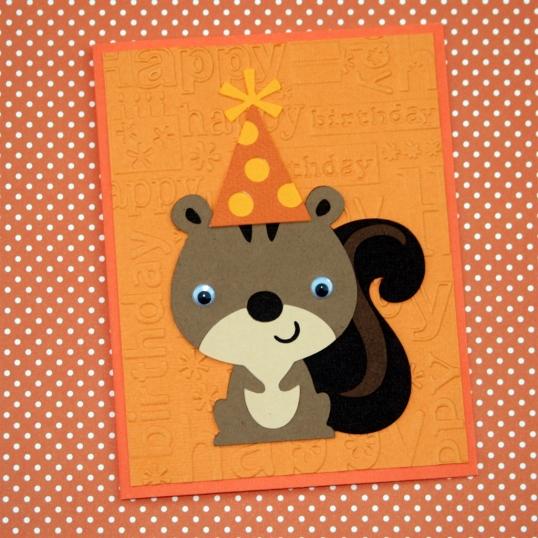 Happy squirrely birthday!