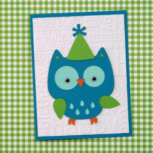 Hoot! Hoot! It's your birthday!