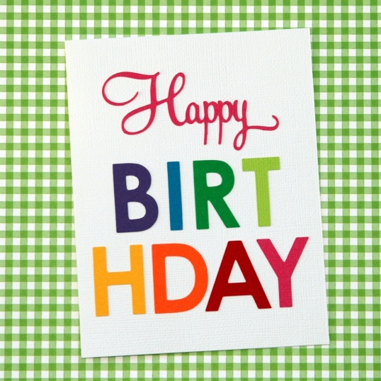 Happy Colorful Birthday!