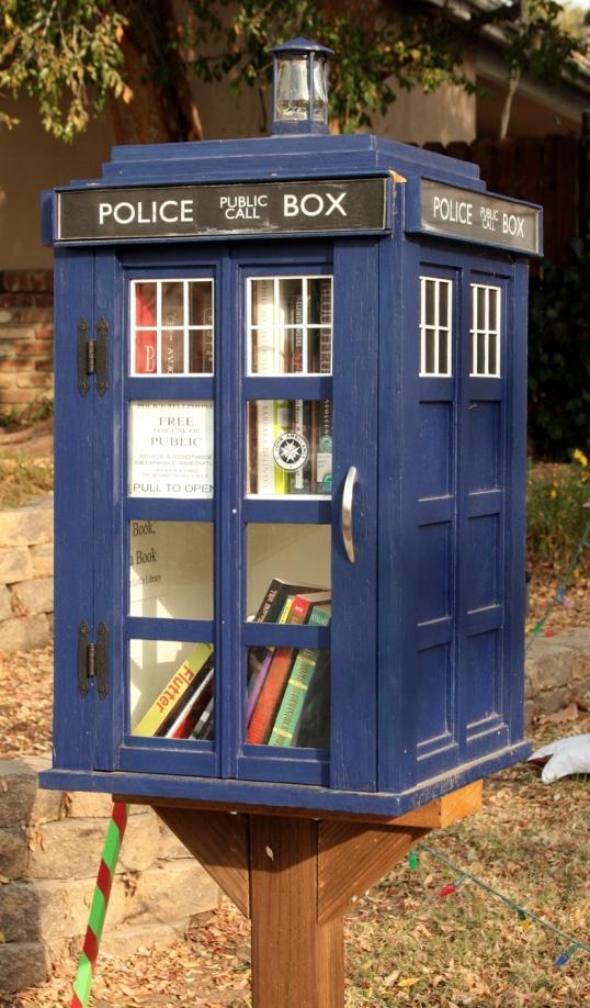 Tardis micro library